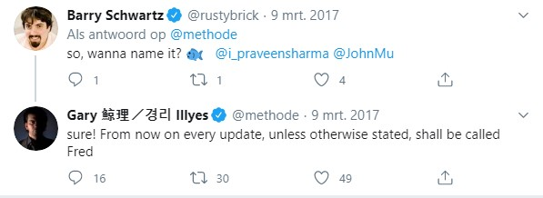 Gary Illyes tweet over Fred update